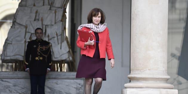 Laurence Rossignol à l'Elysée à Paris le 1er février 2017.
