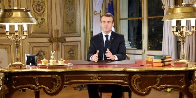 Le Président s'est adressé aux Français le 10 décembre dernier pour ouvrir un grand débat national.