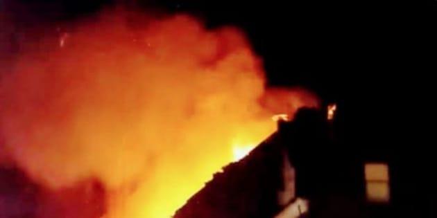 Violente explosion dans le centre-ville de Leicester: un