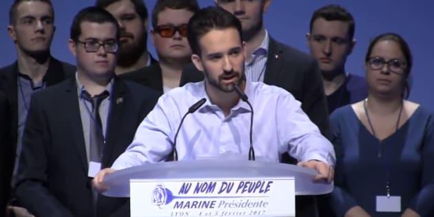 Davy Rodriguez visé par une plainte après la diffusion d'une vidéo visant ce proche de Marine Le Pen.