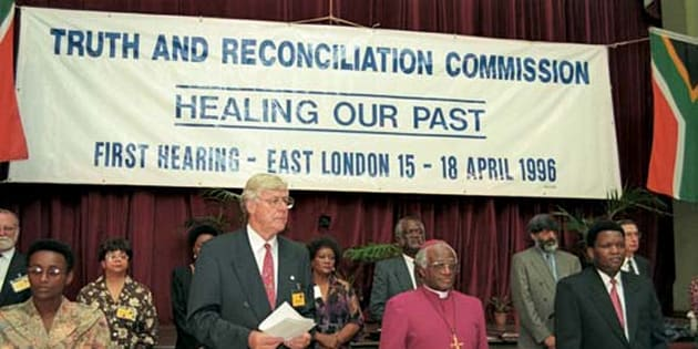 South Africa's Truth and Reconciliation Commission heard confessions from perpetrators of humn rights abuses from 1996.