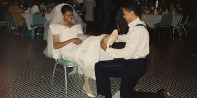 Le foto inedite sul passato di Michelle Obama