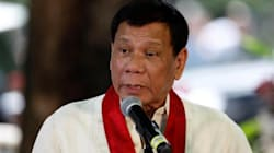 El presidente filipino llama