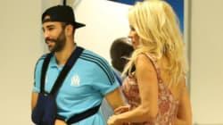 Pamela Anderson était au Vélodrome pour consoler Adil