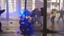 Un des auteurs des violences contre les policiers à moto sur les Champs-Élysées placé en détention