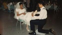 A scuola con le treccine, le nozze con Barack: Michelle come non l'avete mai vista negli scatti 'vintage' su