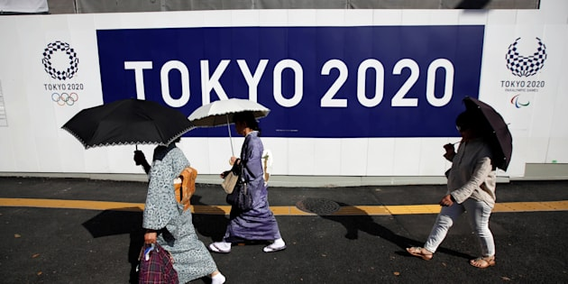Tokyo2020の看板