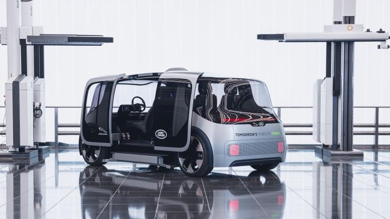 Jaguar Land Rover unveils Project Vector mobility concept