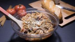 Prepara este plato de espaguetis con solo cinco