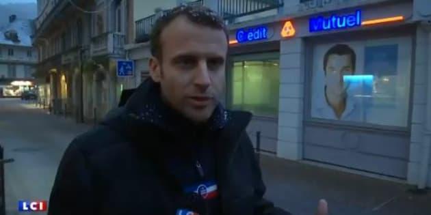 Sous la neige dans les Pyrénées, Macron confirme sa volonté de renforcer le contrôle des chômeurs