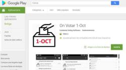 La juez pide a Google eliminar la aplicación que publicitó Puigdemont sobre dónde