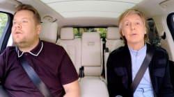 Un «Carpool Karaoke» empreint d'émotions pour Paul