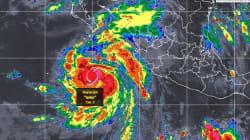 John 'absorbe' a Ileana y se fortalece a categoría 2 en el Pacífico