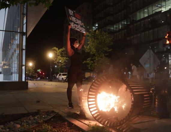 Floyd protesters wreak havoc on Washington, D.C.