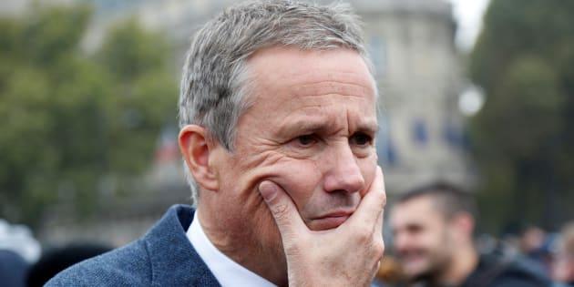 Nicolas Dupont-Aignan, à Paris au mois d'octobre