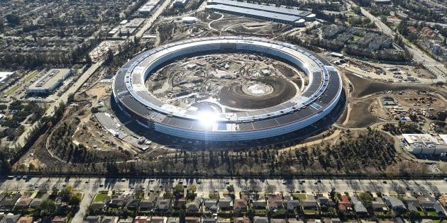 Apple a-t-il réussi à construire les meilleurs bureaux du monde? REUTERS/Noah Berger