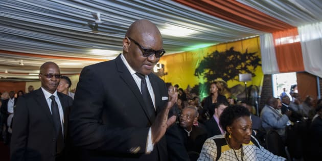 Gauteng Province Premier David Makhura