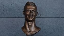 Le sculpteur du buste de Ronaldo défend son