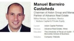 Manuel Barreiro, presunto socio de Anaya, es detenido en