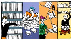 Chacun a sa façon de ranger sa bibliothèque, la