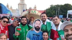 Sa femme ne le laisse pas partir pour la Coupe du monde, ses amis baladent son profil en