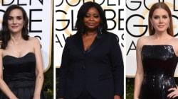 La razón por la que actrices usarán vestidos negros en los Globos de