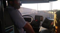À Valence, ces conducteurs de bus ont sacrifié leur jour de repos pour aider au débarquement des