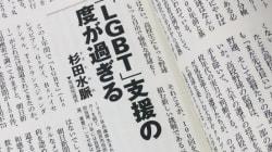 LGBTの生産性と日本の政治