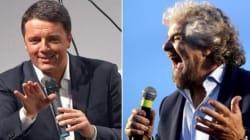 L'abbraccio di Renzi a