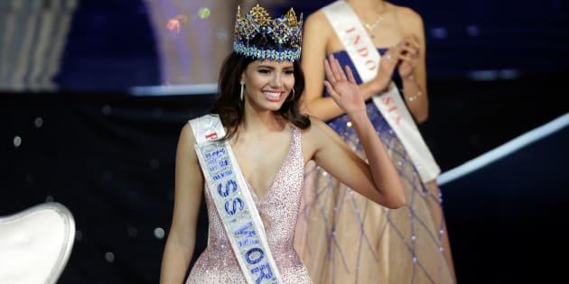 Miss Puerto Rico, Stephanie del Valle, a été élue Miss Monde 2016 à Oxon Hill, près de Washington