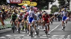 Le Français Démare remporte la 18e étape du Tour de France au