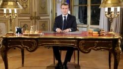 Macron anuncia una subida del salario mínimo de 100 euros al mes para calmar a los chalecos