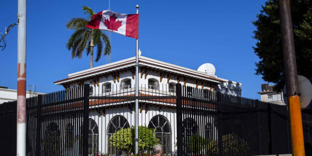 Photo d'archives de l'ambassade du Canada à La Havane à Cuba.