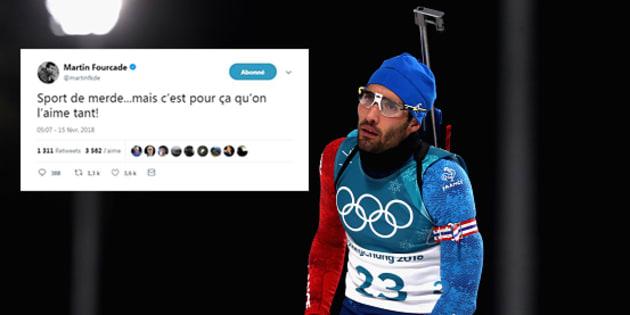La réaction de Martin Fourcade aux Jeux olympiques d'hiver 2018 après cet échec dit tout de sa déception