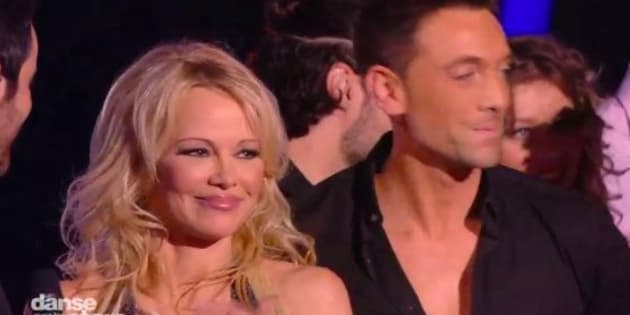 """Pamela Anderson sur le plateau de """"Danse avec les stars"""""""