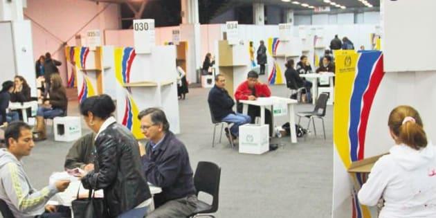 Más de 36 millones de colombianos votarán para elegir presidente y vicepresidente, quienes gobernarán por cuatro años.