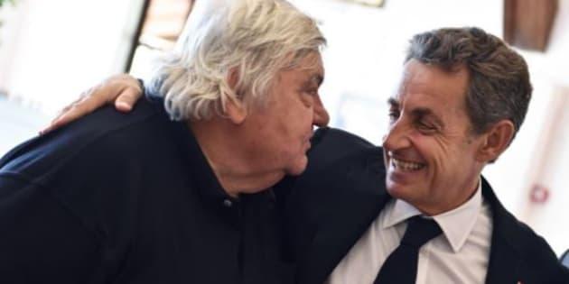 """Sarkozy rend hommage à son """"ami"""" Louis Nicollin: """"Je l'aimais ainsi""""."""