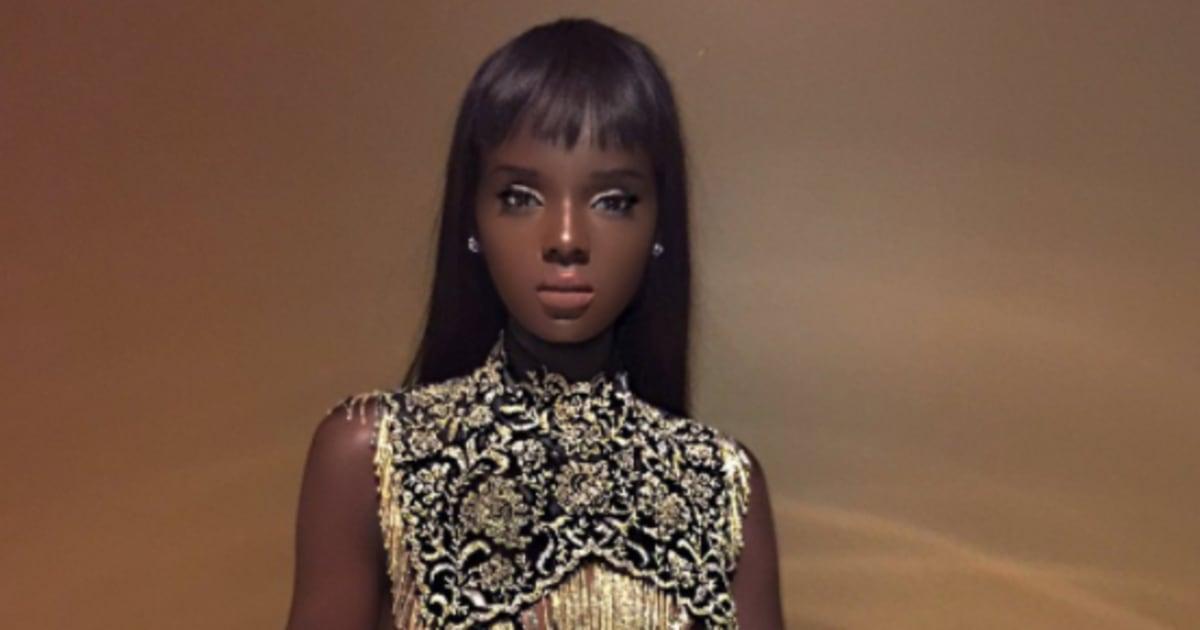 La Ressemblance De Ce Mannequin Avec La Poupée Barbie En A