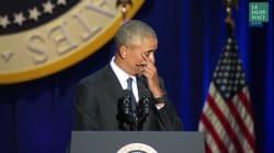 Un président qui pleure, un atout plutôt qu'une