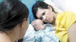 El despertar de una mujer que dio a luz mientras estaba en coma conmueve a