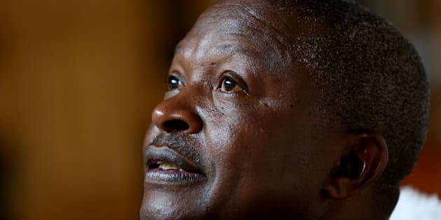 Mpumalanga Premier David Mabuza during an interview about talks about his career and his future plans in politics during an interview on February 23, 2017 in Nelspruit, South Africa.