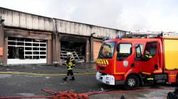 Un incendie criminel a détruit le garage de la gendarmerie de
