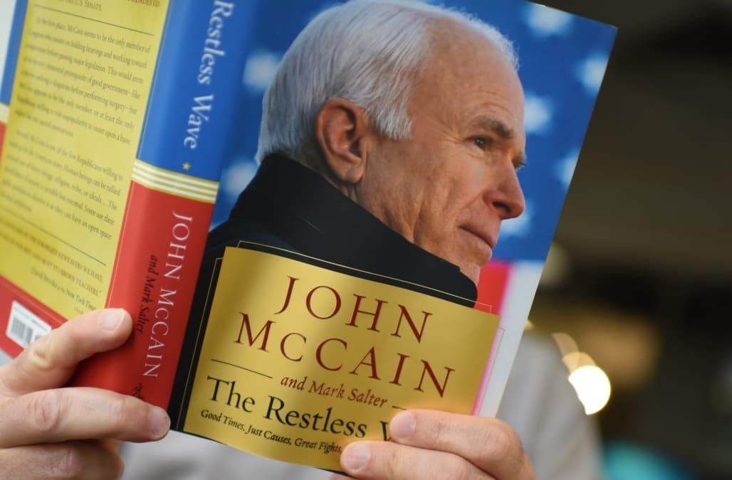 John McCain's net worth as he releases memoir 'The Restless