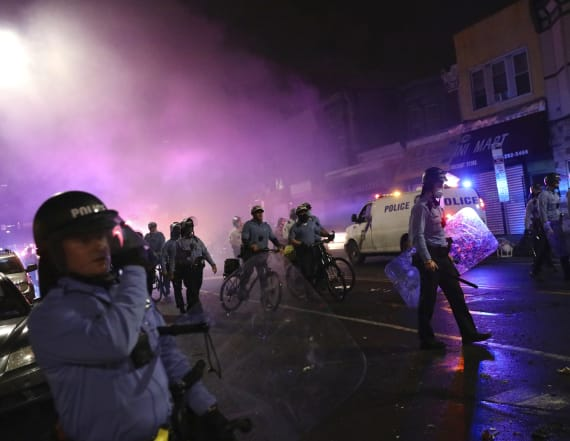 Protests flare in Philly after police kill Black man