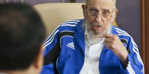 Cuba's former leader Fidel Castro