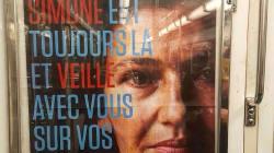 Des street artists répondent à la campagne anti-IVG dans le métro