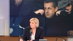 Marine Le Pen, meilleure avocate de Nicolas Sarkozy que Laurent
