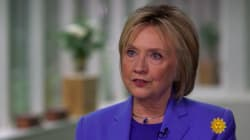 Hillary Clinton defiende lo que hizo su marido Bill con Monica Lewinsky: