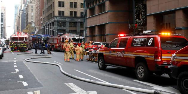 Esplosione alla stazione centrale dei bus di Manhattan a New York
