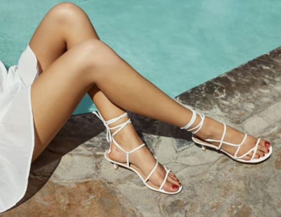 Reformation just launched a summer shoe line